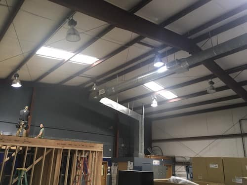 Photos Of Commercial Electricians At Work On Our Projects