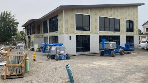 Photos Of A Business Electrical System Project