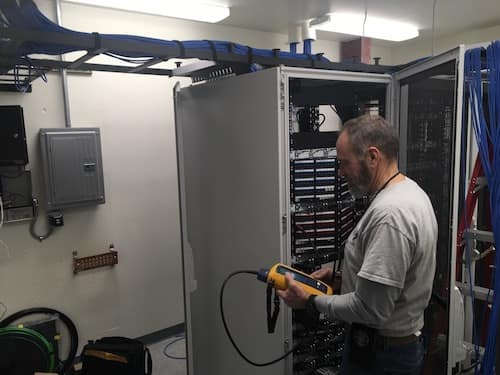 Photos Of A Data Cabling Project