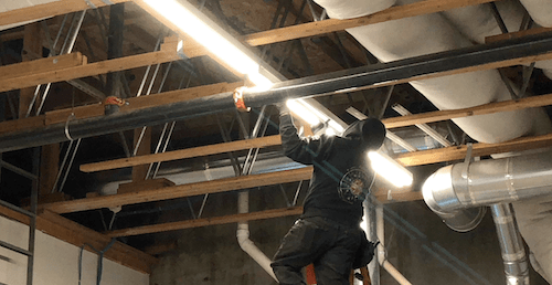 Warehouse and Retail Store Lighting Retrofit